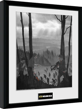 The Walking Dead - The Long Way Home Uramljeni poster