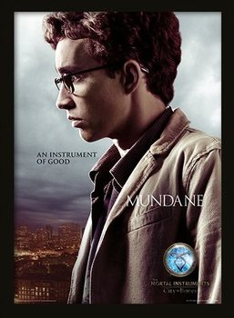 THE MORTAL INSTRUMENTS CITY OF BONES –  simon Uokvireni plakat - pleksi