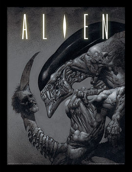 Aliens - Head on Tail Uokvirjeni plakat