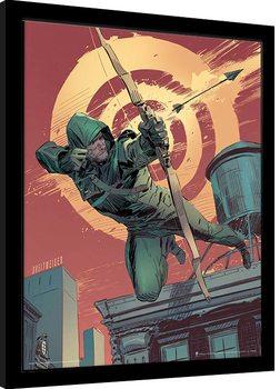 Uokvirjeni plakat Arrow - Target