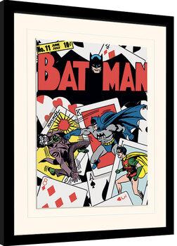 Uokvirjeni plakat Batman - Card Clash