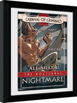 Batman Comic - Circus Nocturnal Nightmare Uokvirjeni plakat