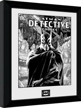 Batman Comic - Detective uokvirjen plakat-pleksi