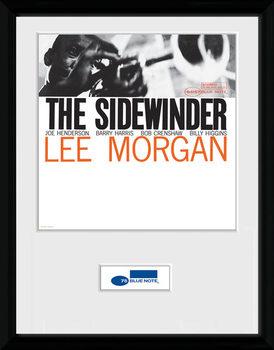 Blue Note - Sidewinder uokvirjen plakat-pleksi