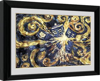 Doctor Who - Exploding Tardis Uokvirjeni plakat