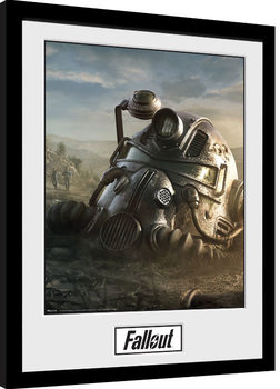 Uokvirjeni plakat Fallout 76 - Mask