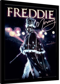 Uokvirjeni plakat Freddie Mercury - Royal Portrait