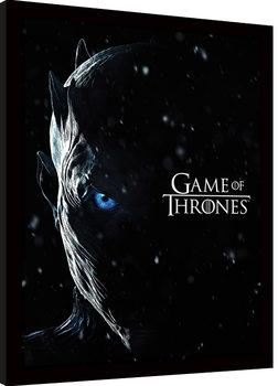 Game Of Thrones - The Night King Uokvirjeni plakat