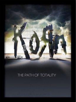 KORN - the path of totality Uokvirjeni plakat