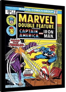 Uokvirjeni plakat Marvel Comics - Enter The Tumbler
