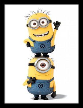 Minions (Despicable Me) - Minions uokvirjen plakat-pleksi
