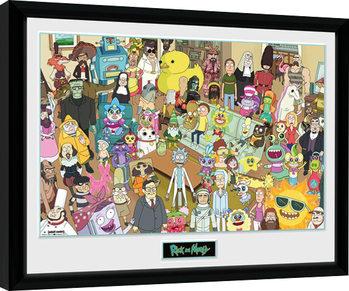 Rick and Morty - Total Rickall Uokvirjeni plakat