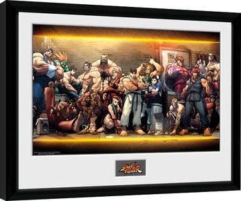 Street Fighter - Characters Uokvirjeni plakat