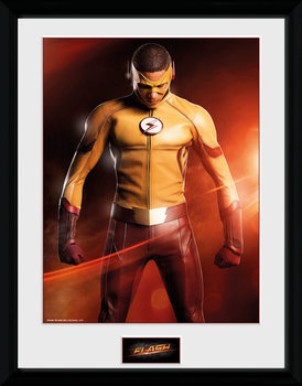 The Flash - Kid Flash uokvirjen plakat-pleksi
