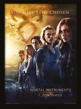 THE MORTAL INSTRUMENTS CITY OF BONES - chosen uokvirjen plakat-pleksi