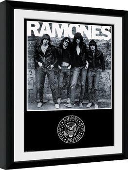 The Ramones - Album uokvirjen plakat-pleksi