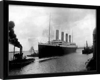 Uokvirjeni plakat TITANIC (4)
