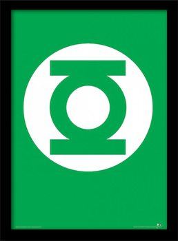 DC Comics - The Green Lantern Uokvirjen plakat-pleksi