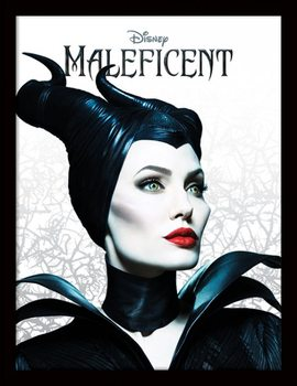 Maleficent - Pose Uokvirjen plakat-pleksi