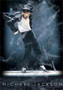 Michael Jackson 3D Uokvirjen plakat