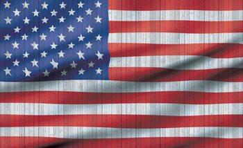 Ταπετσαρία τοιχογραφία  USA American Flag