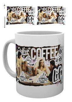 Mugg Vänner - Coffee Is Life