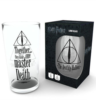 Vannglass Harry Potter - Deathly Hallows