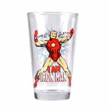 Vannglass Marvel - Iron Man