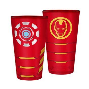 Vannglass Marvel - Iron Man