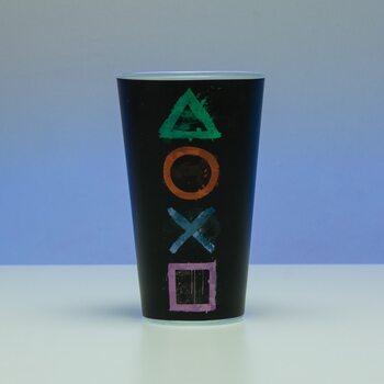 Vannglass Playstation - Logo