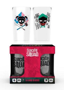 Vaso Escuadrón Suicida - Joker & Harley