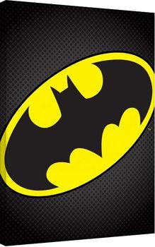 Vászon Plakát Batman (A denevérember) - Logo