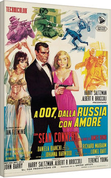 Vászon Plakát James Bond - Dalla Russia Con Amore