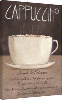 Vászon Plakát Mandy Pritty - Cappuccino