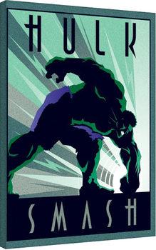 Vászon Plakát Marvel Deco - Hulk