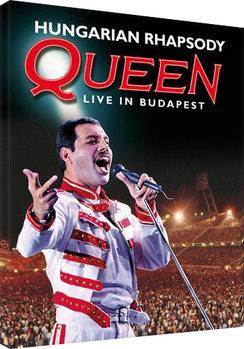 Vászon Plakát Queen - Hungarian Rhapsody