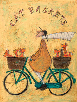 Vászon Plakát Sam Toft - Cat Baskets
