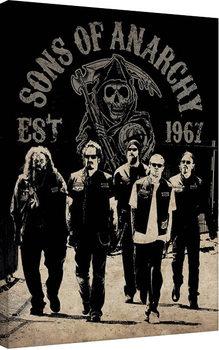 Vászon Plakát Sons of Anarchy (Kemény motorosok) - Reaper Crew