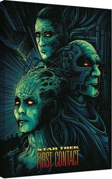 Vászon Plakát Star Trek: First Contact - 50th Anniversary