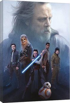 Vászonkép A Csillagok háborúja VIII: Az utolsó Jedik - Hope