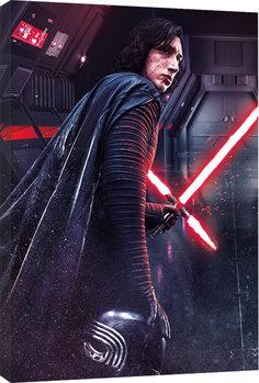 Vászonkép A Csillagok háborúja VIII: Az utolsó Jedik - Kylo Ren Rage