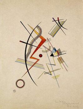 Vászonkép Annual Gift to the Kandinsky Society; Jahresgabe fur die Kandinsky-Gesellschaft, 1925