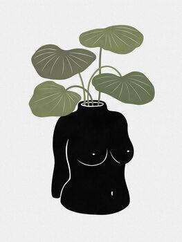 Vászonkép Boob-tanical Vase