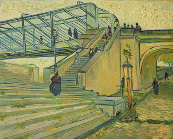 Vászonkép Bridge of Trinquetaille, 1888