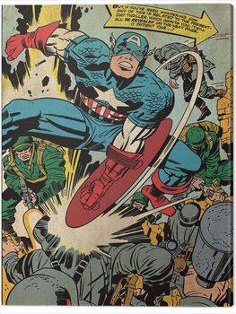 Vászonkép Captain America - Soldiers