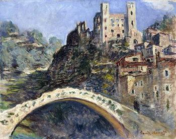 Vászonkép Dolceacqua, 1884