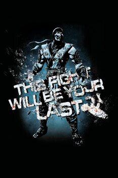 Vászonkép Mortal Kombat - Fight