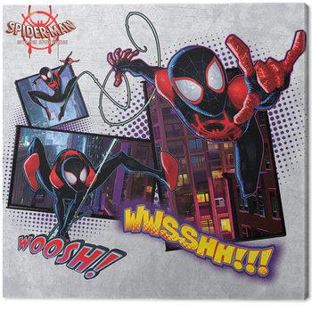 Vászonkép Pókember: Irány a Pókverzum - Comic