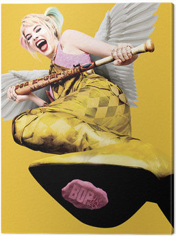 Vászonkép Ragadozó madarak: és egy bizonyos Harley Quinn csodasztikus felszabadulása - Harley Quinn Wings