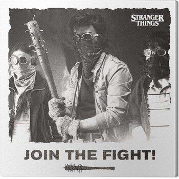 Vászonkép Stranger Things - Join the Fight
